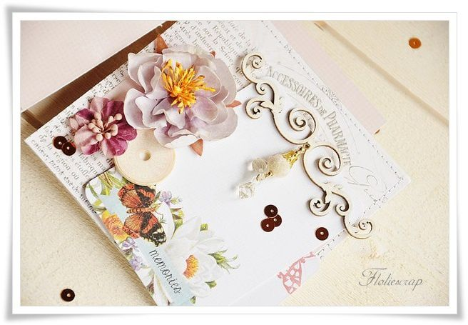 Mini-album-with-box-Floliescrap 0063