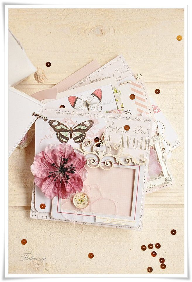 Mini-album-with-box-Floliescrap 0087