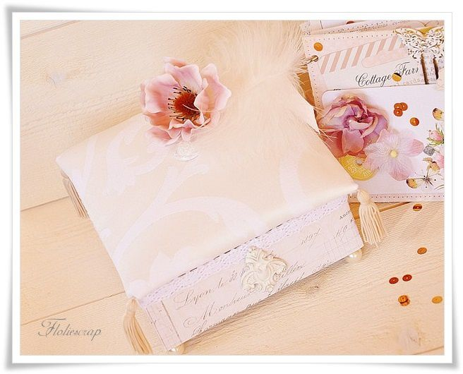 Mini-album-with-box-Floliescrap 0111