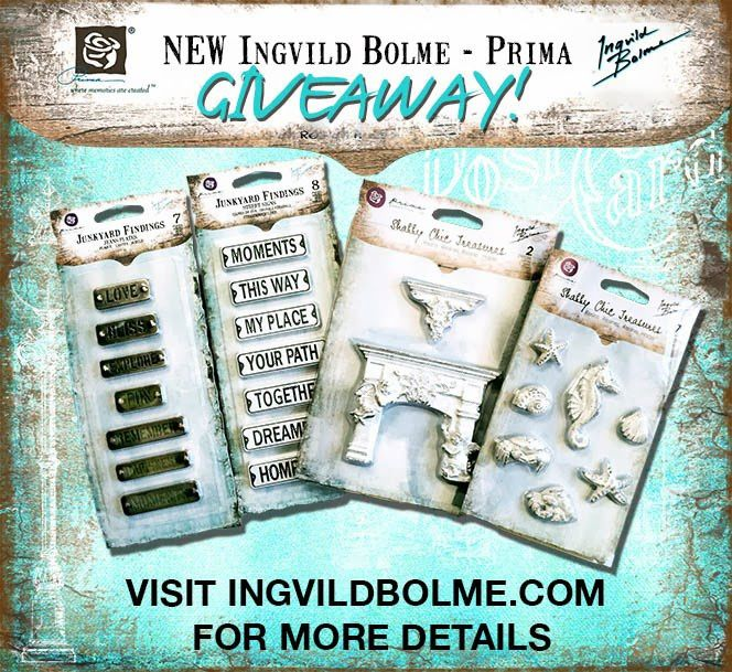 giveaway 664 ingvild bolme prima shabby chic treasures junk