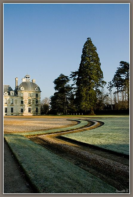 Ambiance-hivernale-à-Cheverny