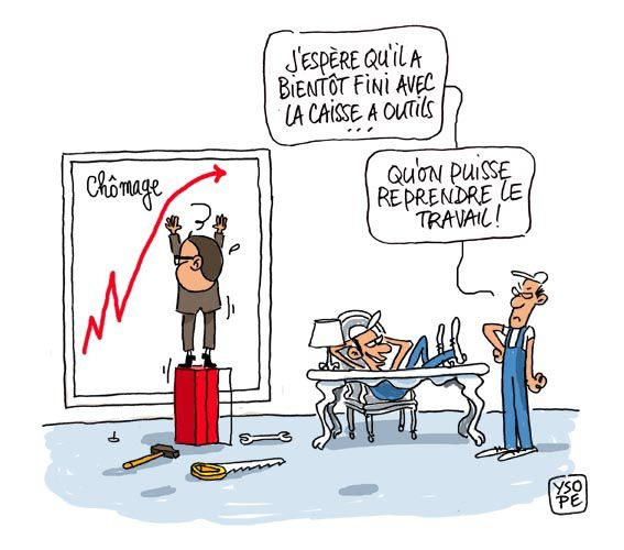 Hollande courbe chomage 2 Ysope