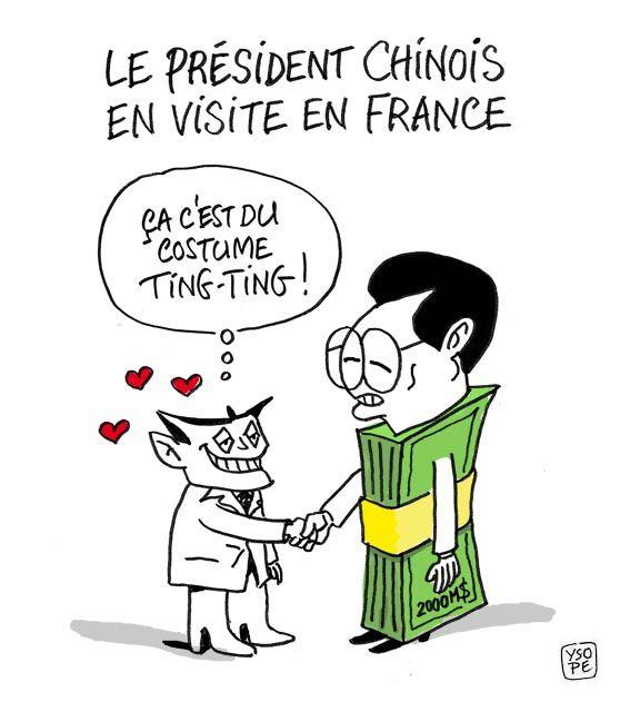 Hu jintao en france2