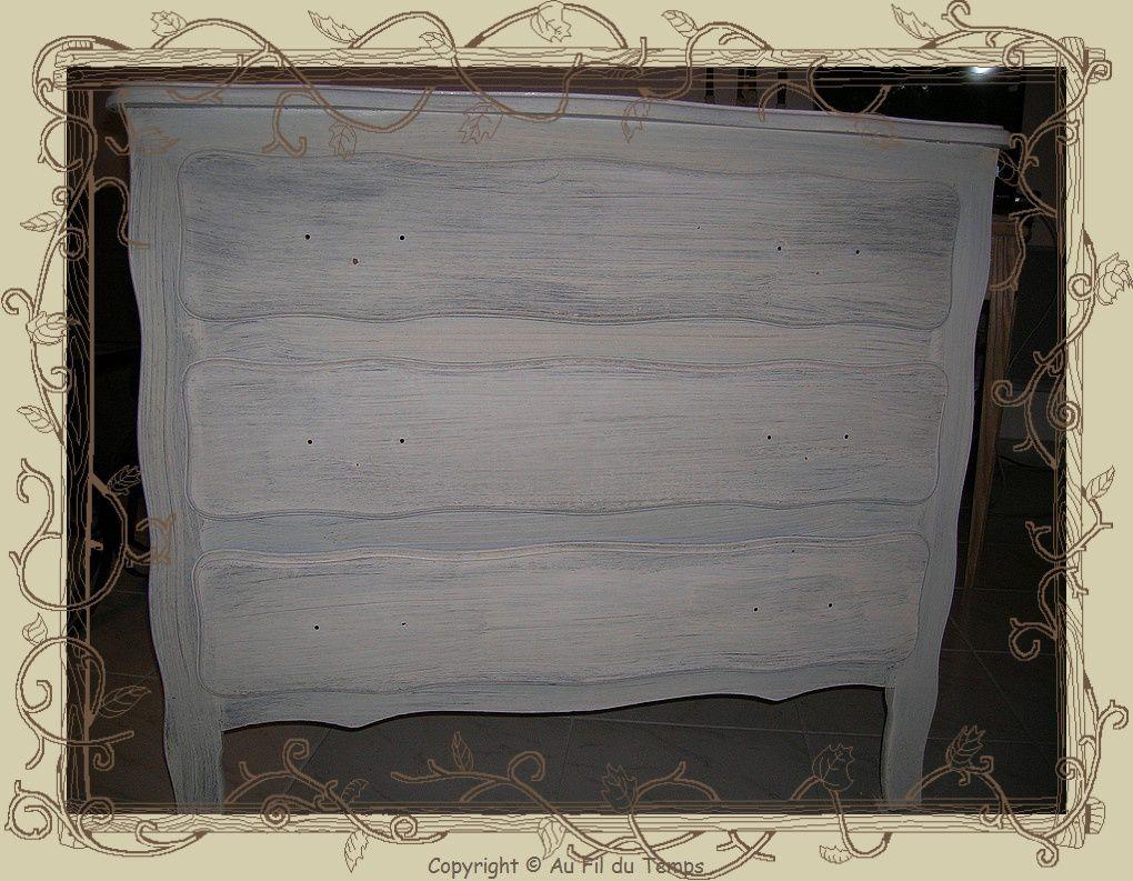 Commode peindre - Peindre une porte en bois deja peinte ...