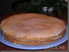 GATEAU AU LEMON CURD
