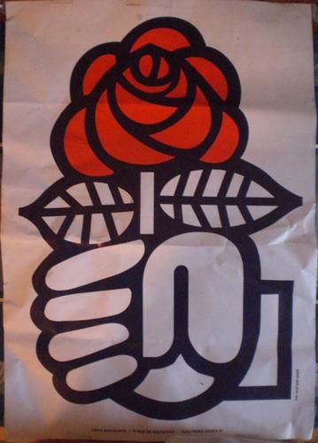 LOGO PS ROSE SOCIALISTE