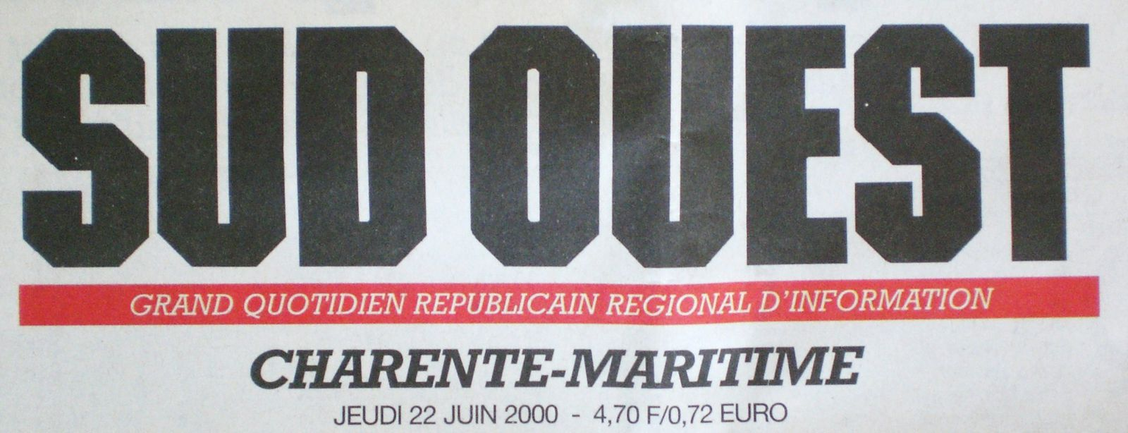 Logo SUD OUEST 2000