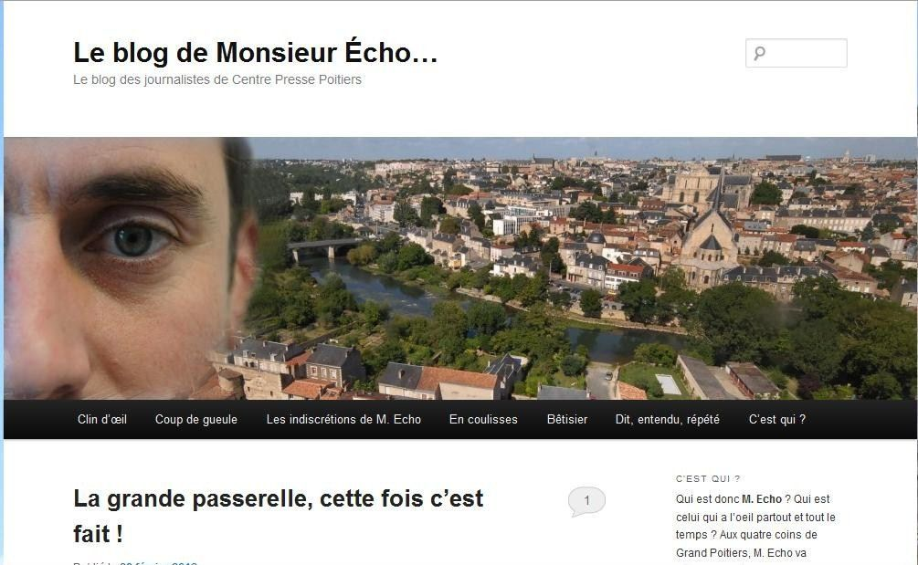 Blog Monsieur Echo