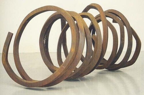 bernar-venet-indeterminate-line-2002-at-robert
