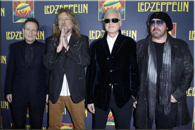 Led Zeppelin New York 12 10 2012