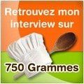750 grammes logo interview