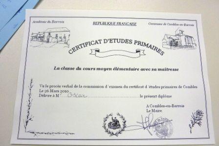Certificat d'études Combles0037