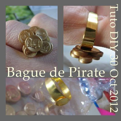 TUTO BAGUE PIRATE