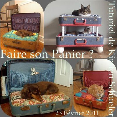 panier chat a faire soi. Black Bedroom Furniture Sets. Home Design Ideas