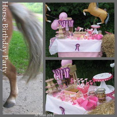 anniversaire decoration cheval