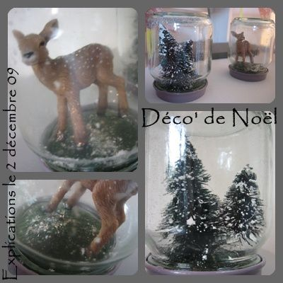 Idees deco 39 que cache ma boite belette - Decoration de noel de table a faire soi meme ...