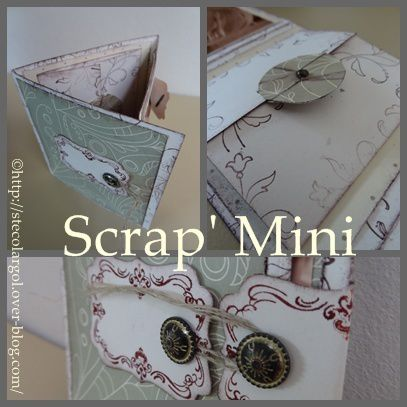 Id es scrapbooking d butant - Idee scrapbooking album photo ...