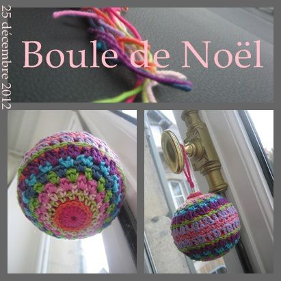 boule de noel crochet modele gratuit. Black Bedroom Furniture Sets. Home Design Ideas