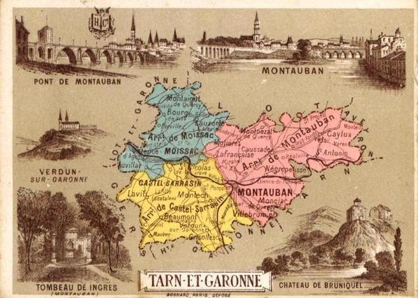 Aux lendemains de la guerre de 1870, nos départements, plus quelques cartes d'un Atlas de la même époque, avec les colonies de l'époque.