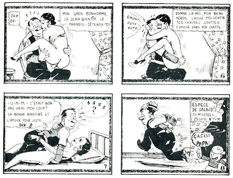 Dirty Comics ou Tijuana Bibles ou eight-papers ouBluesis ou Jo-Jo Books