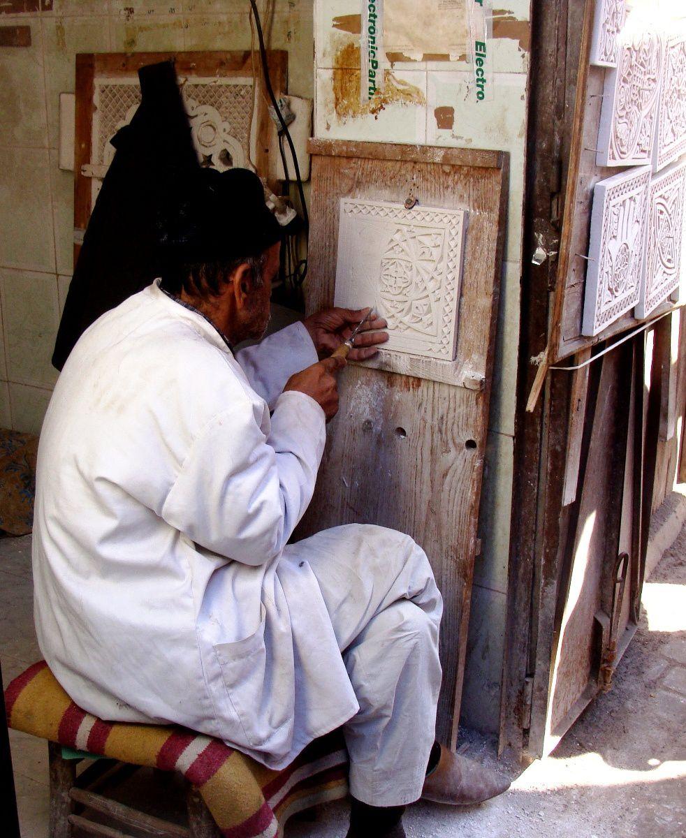 La médina au quotidien +quelques oeuvres exposées au Musée de Marrakech