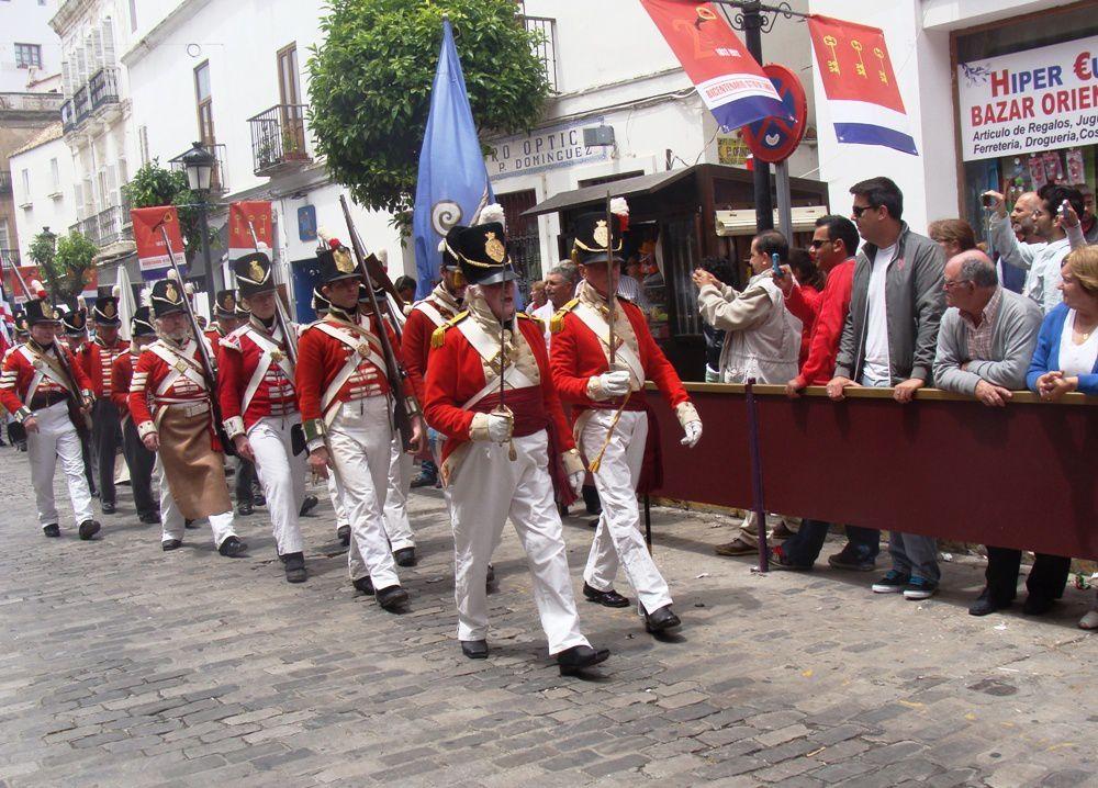 Bicentenaire du siège de Tarifa et de la victoire du General Copons sur les troupes Napoléoniennes.