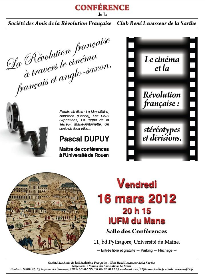 conference Sarf 16 mars 2012