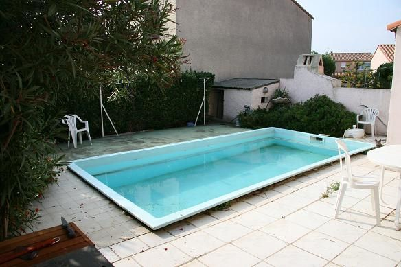 D coupage de la vieille coque montage piscine waterair for Piscine water air