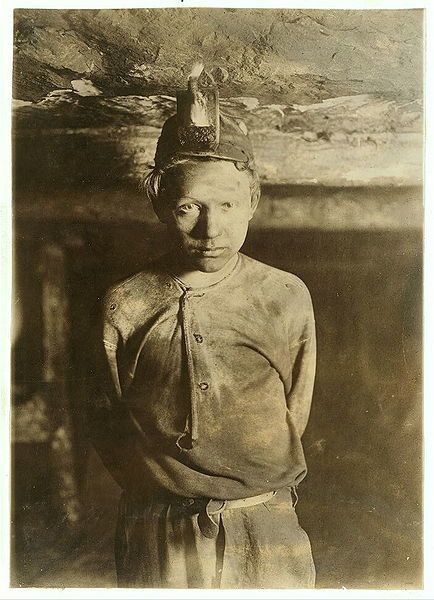 Lewis Hine-Trapper Boy