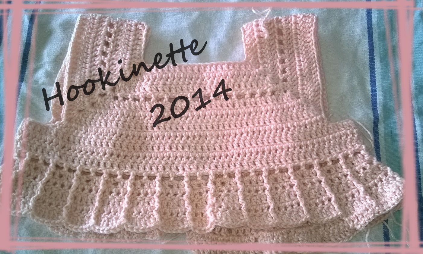 robe bb au crochet