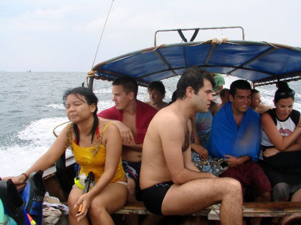 excursion koh phi phi thailande
