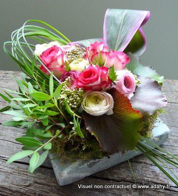 cours d 39 art floral adahy mars 2010 f tons le printemps fleurs art floral composition. Black Bedroom Furniture Sets. Home Design Ideas