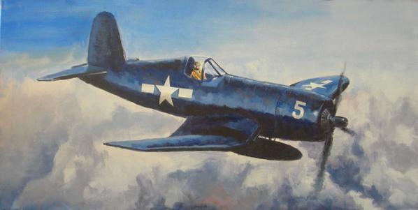Peintures acryliques aviation