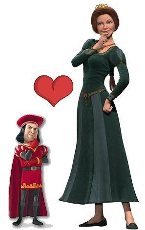 sarko-et-bruni-in-love.jpg sarklozy carla bruni in love romance amour photo mariage disney shrek fiona