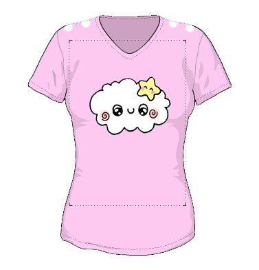 T_shirt_rose_nuage_essai