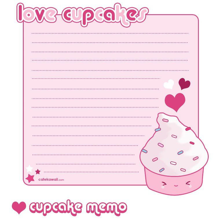 Cupcake_Memo_Sheet_by_riaherod