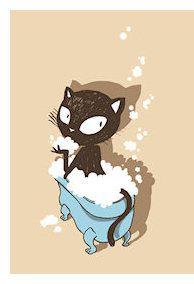 Nancy Pena - Toilette de chat