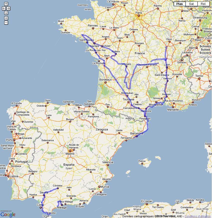 carte france et espagne Carte France Espagne – aarl.neoddns.org