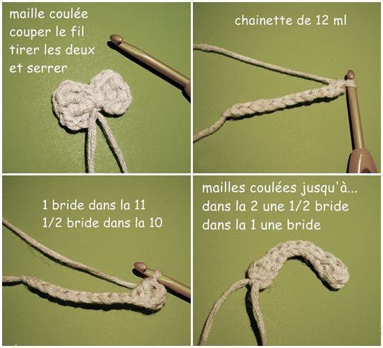 article tuto noeud crochet facile