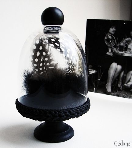 diy cloche en verre g dane bretzels. Black Bedroom Furniture Sets. Home Design Ideas