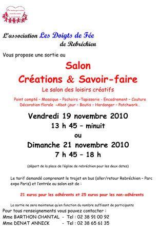 L 39 aiguille en fete les artisanes de la colline - Salon creations savoir faire 15 novembre ...