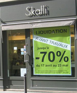 liquidation totale avant travaux chez skalli les bons plans de naima. Black Bedroom Furniture Sets. Home Design Ideas