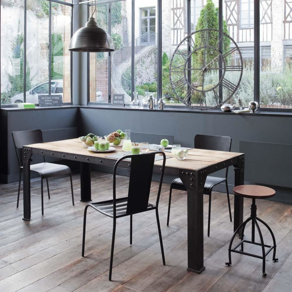 D co cuisine factory for Maisons du monde table