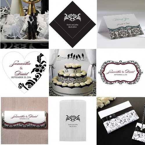 Mariage Baroque Noir Blancjpg Pictures