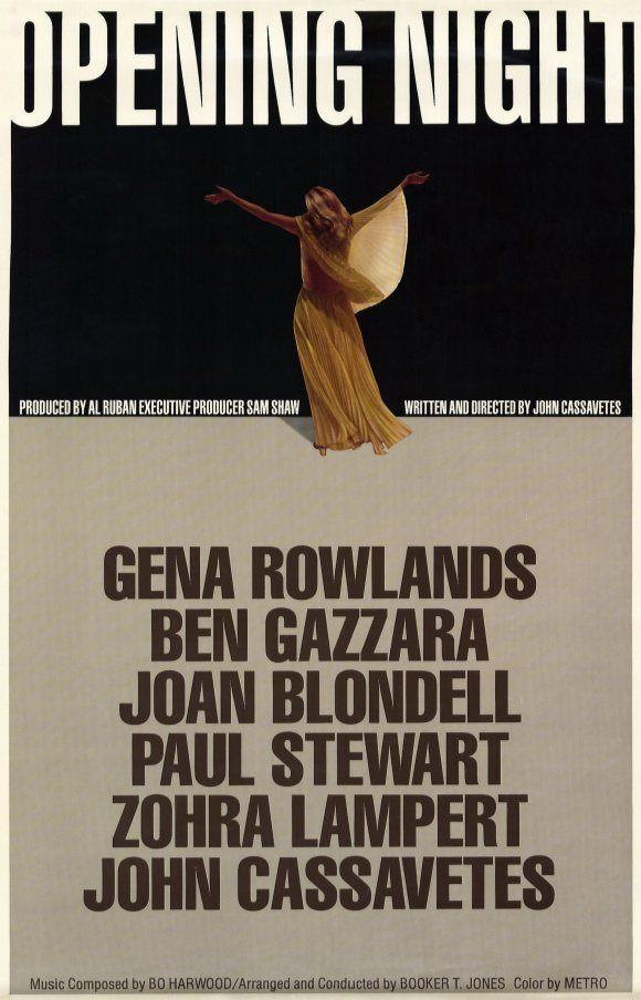 Opening Night - affiche