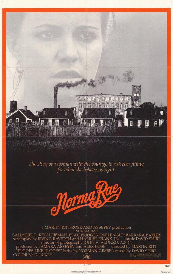 マーティン・リット監督のノーマ・レイという映画