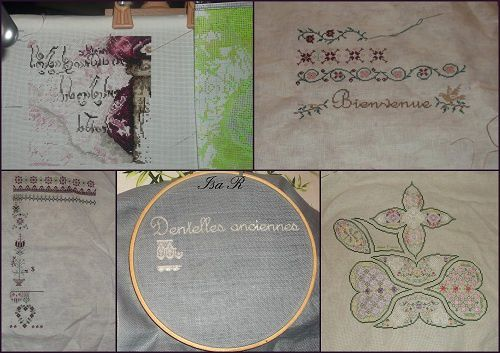Mes broderies pour 2013