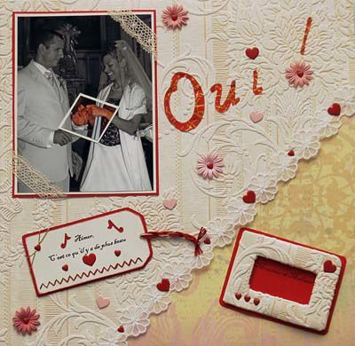 Album scrapbooking mariage page 15 scrapbooking etc - Idee scrapbooking album photo ...