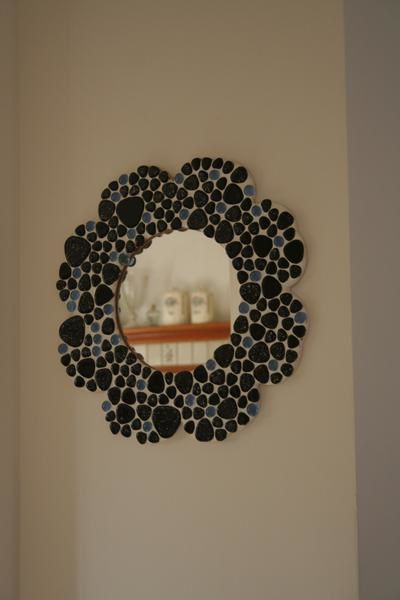 D co le miroir en mosaique les cr ations wo design for Miroir mosaique design
