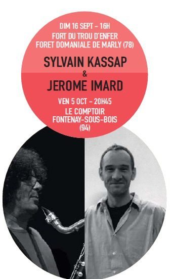 Sylvain Kassap - Affiche Rouge sept oct 12